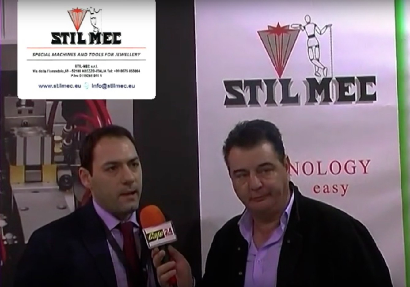 STILMEC @ VicenzaOro 2016 – TV Interview